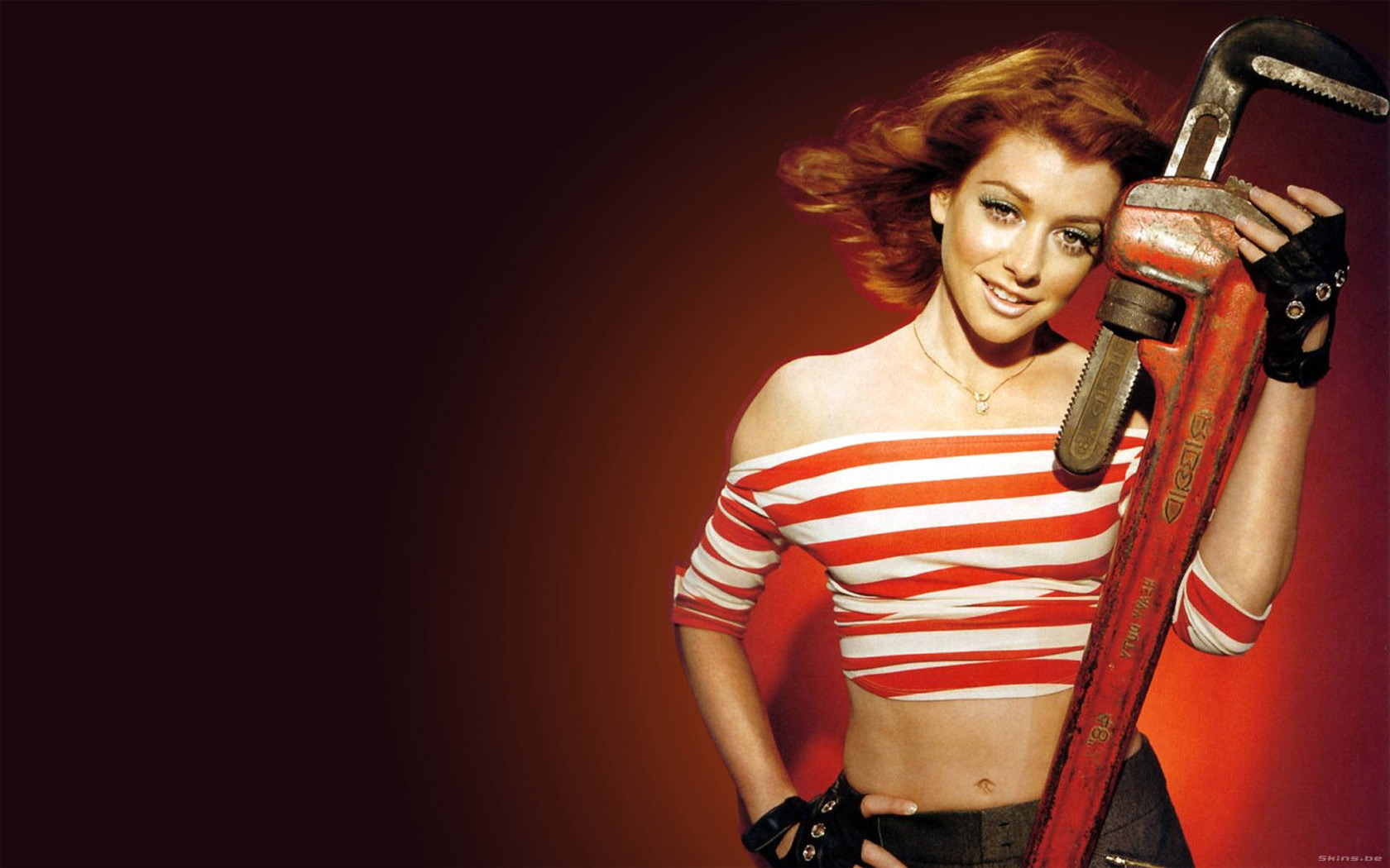 Alyson Hannigan wallpaper (#26393)