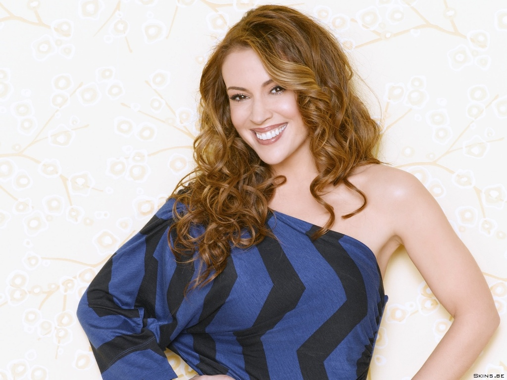 Alyssa Milano wallpaper (#38608)