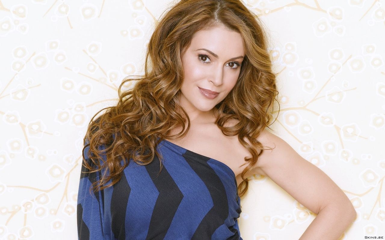 Alyssa Milano wallpaper (#38609)