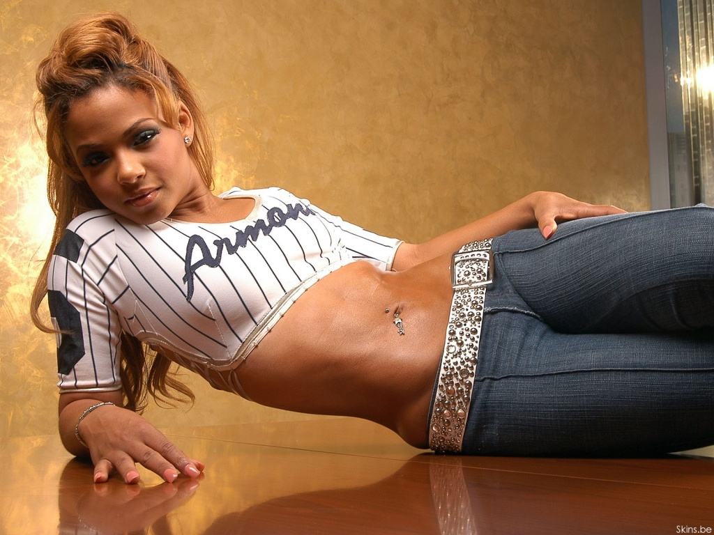 This Christina Milian Wallpaper (#30234) was scaled down in order to fit ...