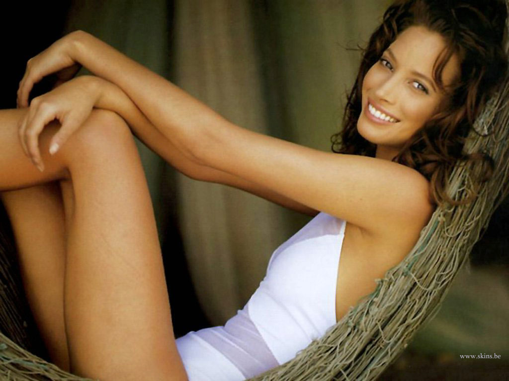 Christy Turlington Desktop Wallpaper Free Download In Widescreen Hd